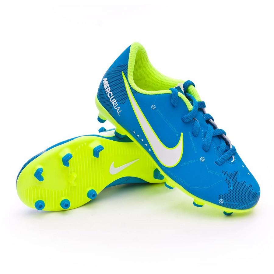 Blue Iii Enfant Chaussure Nike De Mercurial Vortex Neymar Fg Foot 29WeYIDEH