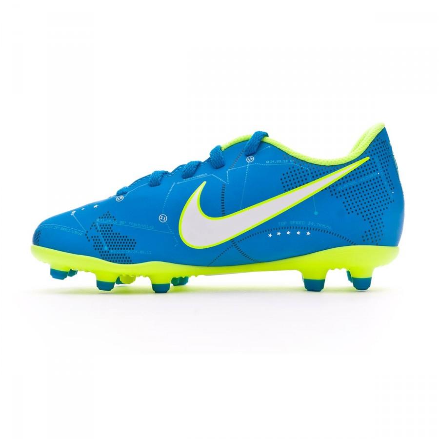 c44cd542 Bota de fútbol Nike Mercurial Vortex III Neymar FG Niño Blue orbit-Armory  navy - Tienda de fútbol Fútbol Emotion