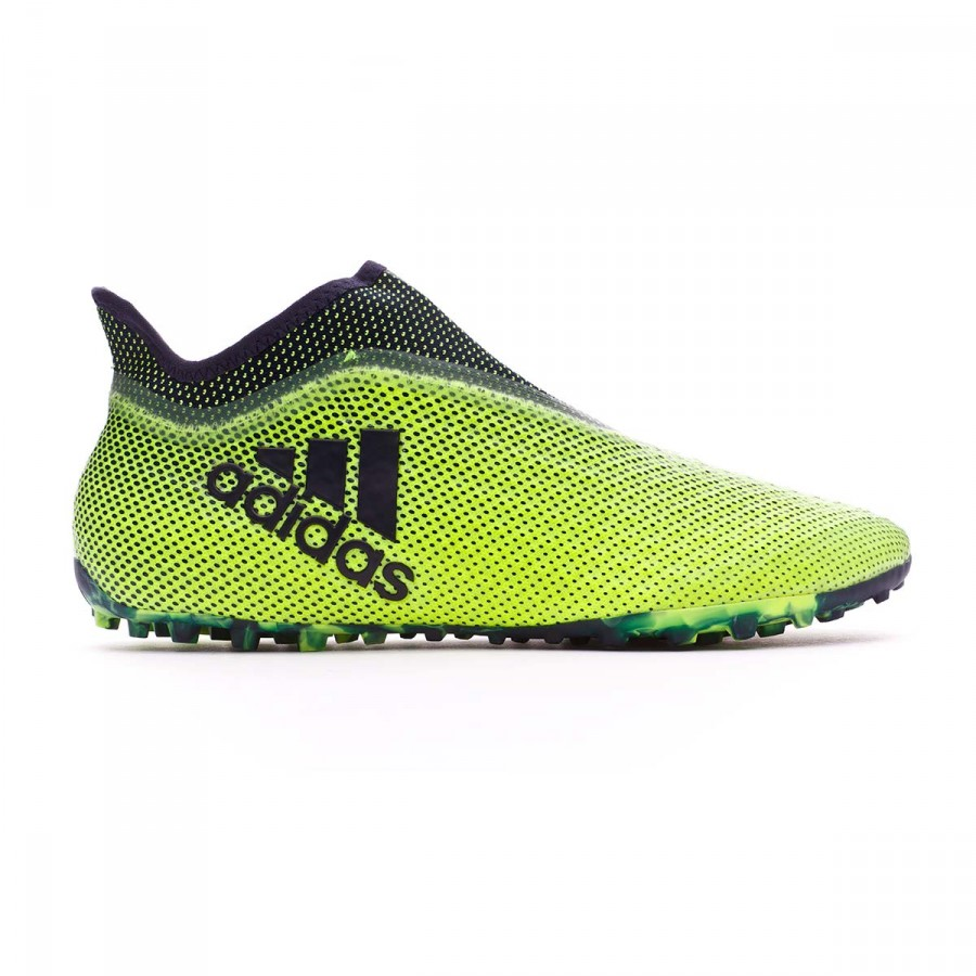 11584cb5d3dd Football Boot adidas X Tango 17+ Purespeed Turf Solar yellow-Legend ink -  Football store Fútbol Emotion
