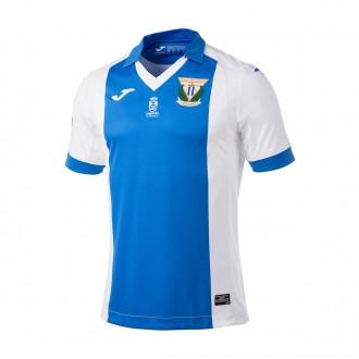 Camisola  Joma CD Leganés Equipamento Principal 2017-2018 Branco-Azul