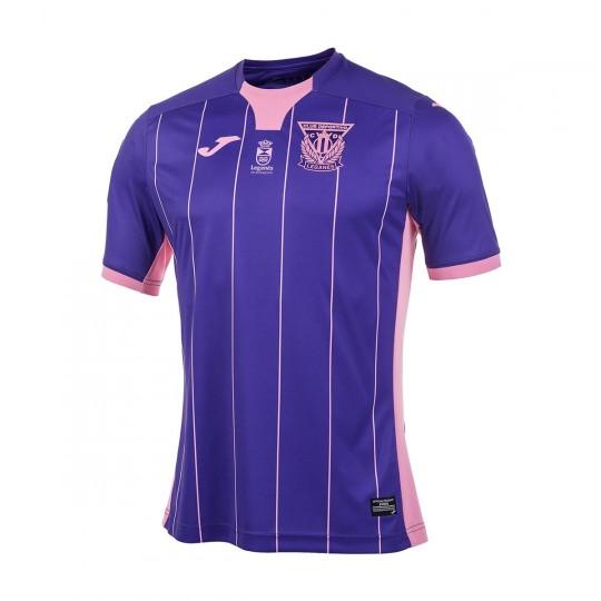 Camiseta  Joma CD Leganés Segunda Equipación 2017-2018 Morado-Rosa