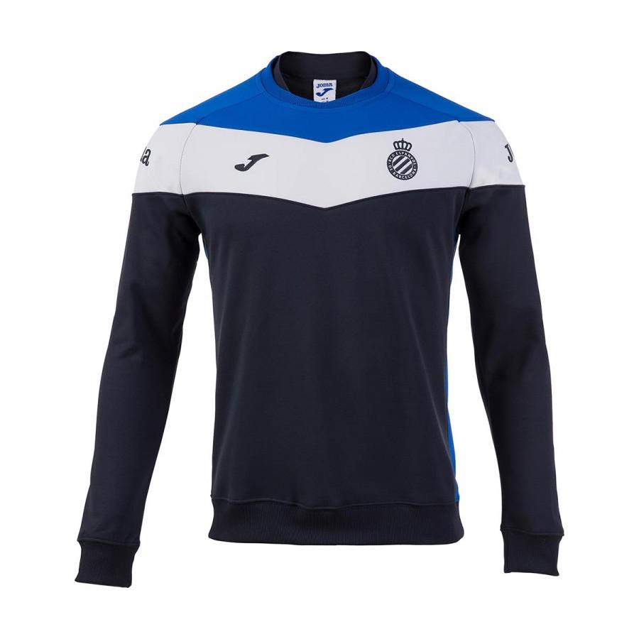 Sweatshirt Joma RDC Espanyol 2017-2018 Training Navy blue-Royal ... 1d5da4de6c769