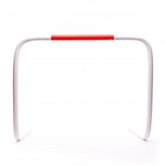 Valla  Jim Sports Abatible 50 cm Blanco-Rojo