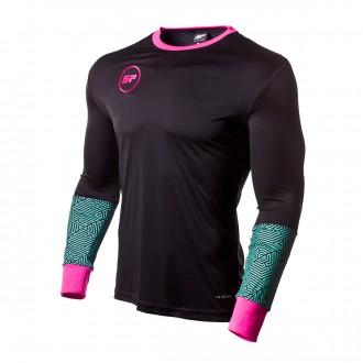 Camiseta SP Fútbol m/l Odín Negro
