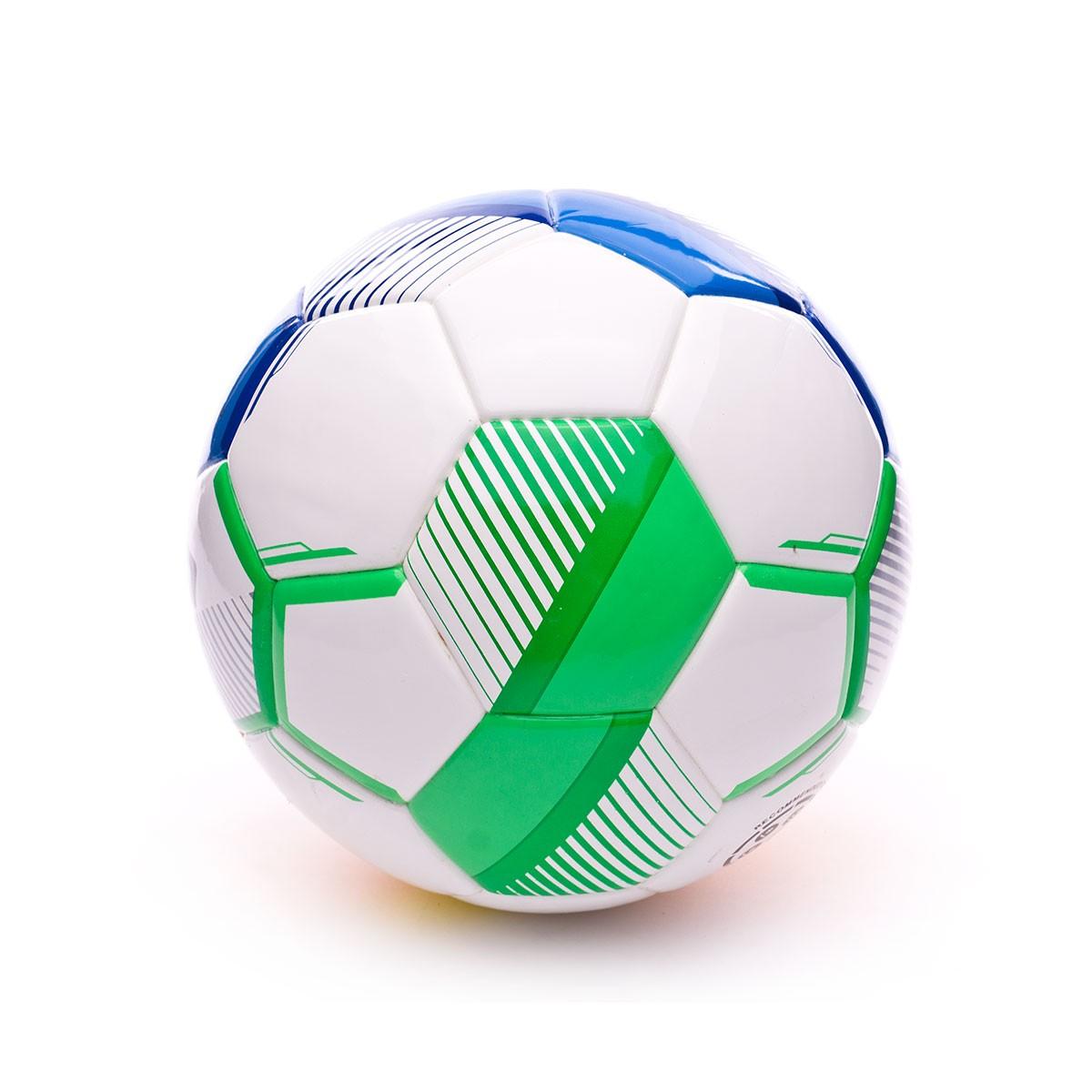 Baln Sp Axeler Futsal Ii Blanco Multicolor Soloporteros Es Ahora Balon Ftbol Emotion