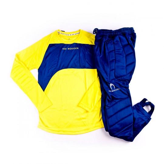 Conjunto  HO Soccer Keeper Premier Niño Lime