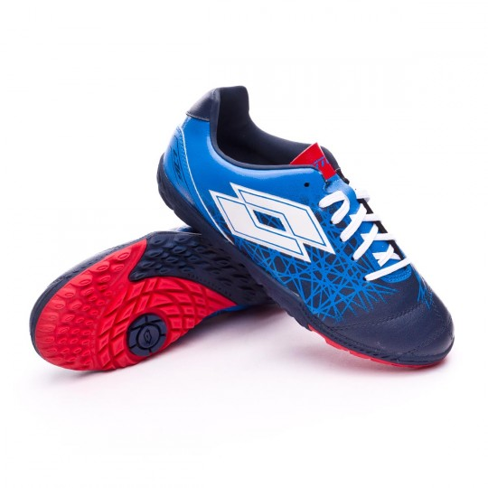 Zapatilla  Lotto Zhero Gravity 700 IX Turf Niño Blue-White