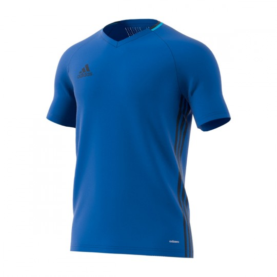 Camiseta  adidas Condivo 16 Azul-Maruni