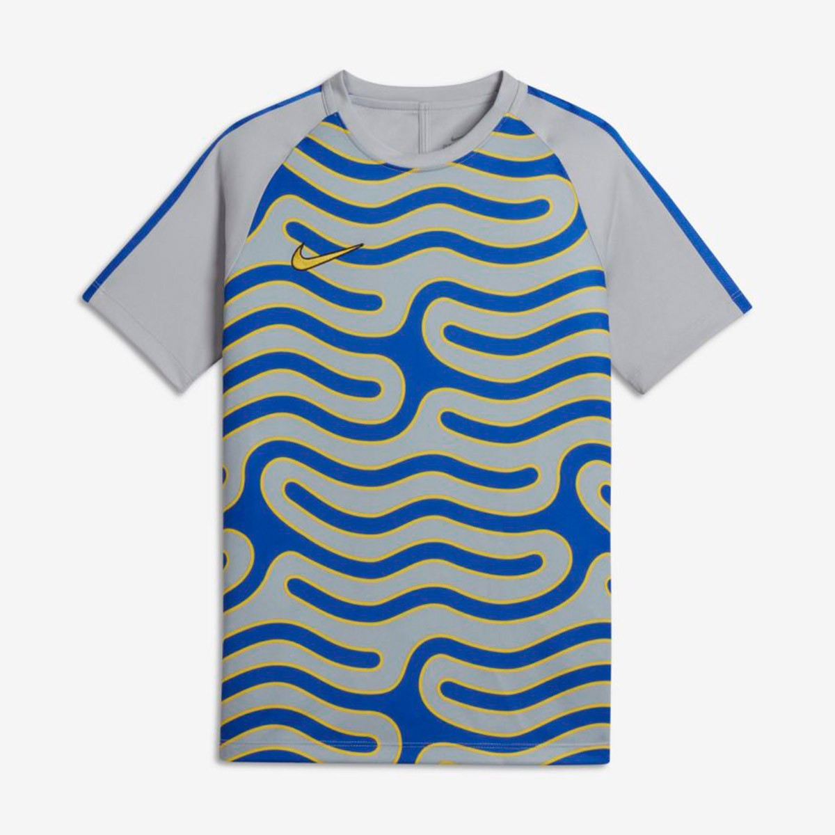 cce6122b5d Camiseta Nike Dry Academy TopSS GX2 Niño Wolf grey-Hiper royal-Vivid sulfur  - Soloporteros es ahora Fútbol Emotion