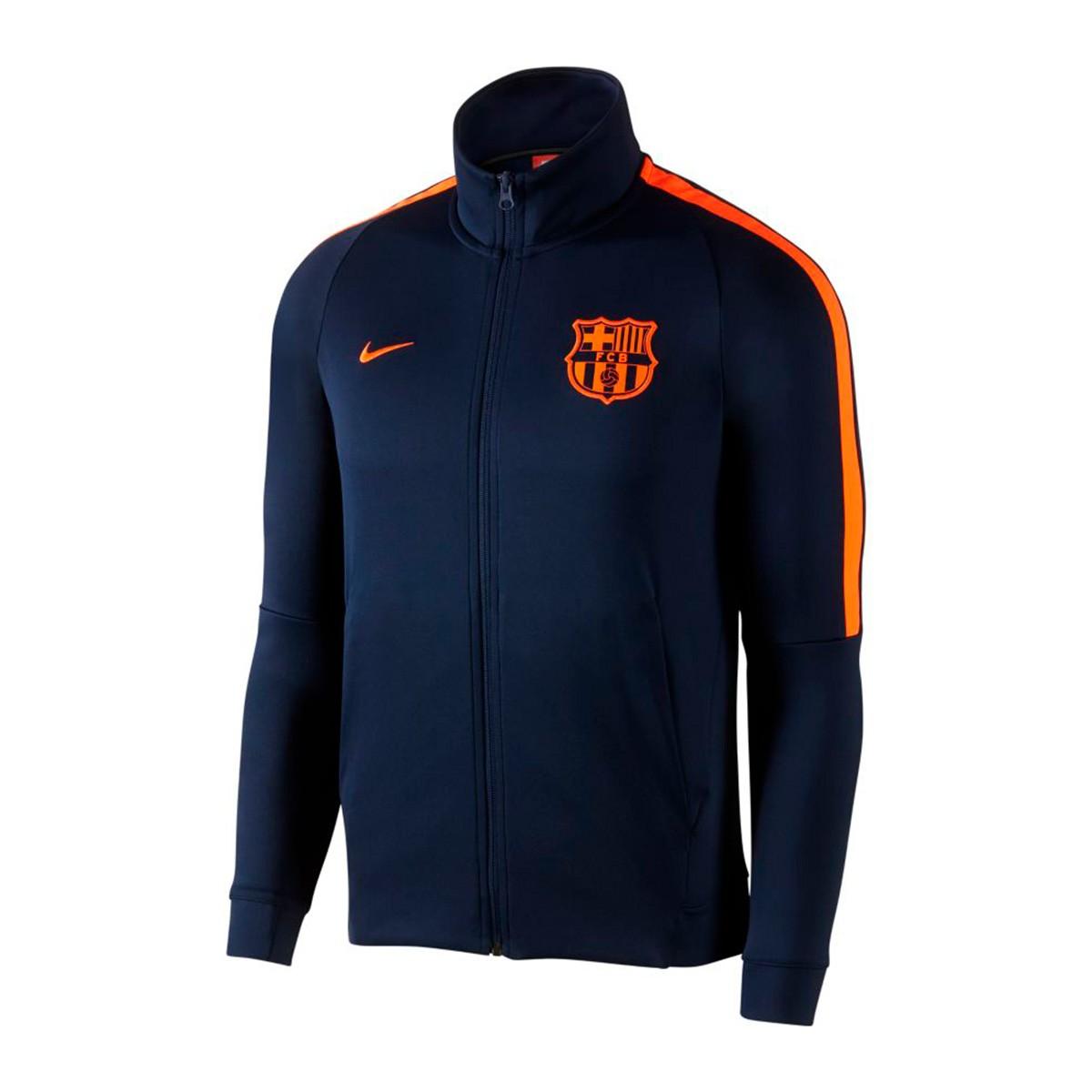 Jacket Nike FC Barcelona NSW 2017-2018 Obsidian-Hyper crimson ... 3d5467f27626