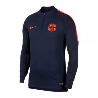 Camiseta  Nike FC Barcelona Dry Squad Dril Top 2017-2018 Obsidian-Hyper crimson