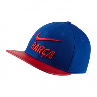 Boné  Nike FC Barcelona Pro 2017-2018 Deep royal blue-Noble Red