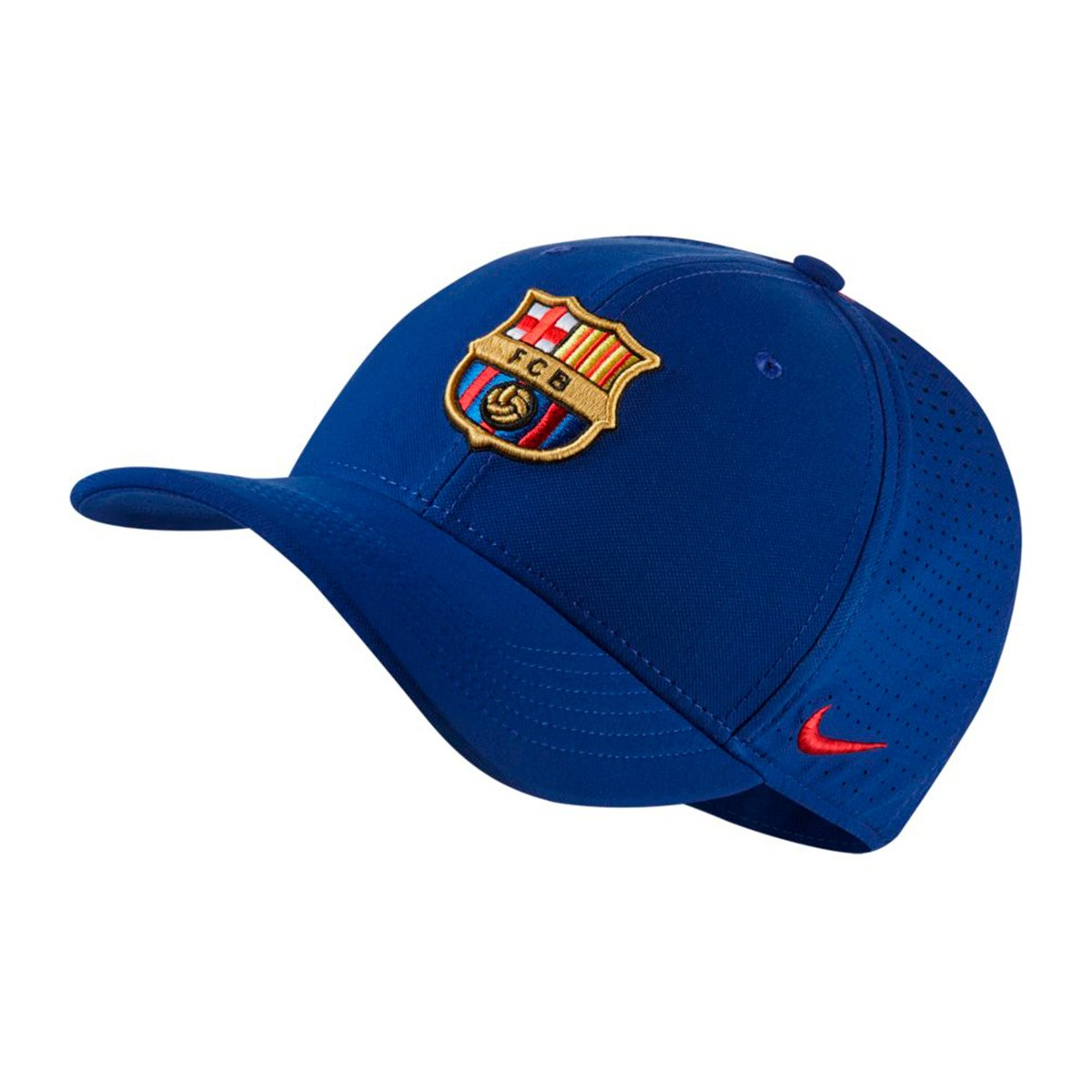 1da6145753b Cap Nike FC Barcelona Arobill 2017-2018 Deep royal blue-Noble Red ...