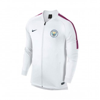 Chaqueta  Nike Manchester City FC Dry Squad 2017-2018 White-True berry-Midnight navy