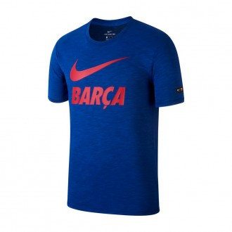 Camisola  Nike FC Barcelona Dry 2017-2018 Deep royal blue