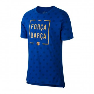 Camisola  Nike FC Barcelona Squad 2017-2018 Deep royal blue