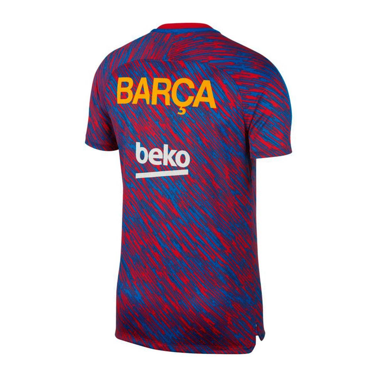 ... Camiseta FC Barcelona Dry Squad Top SS GX 2017-2018 University  red-University gold. Categorías de la Camiseta bde5c2c6550