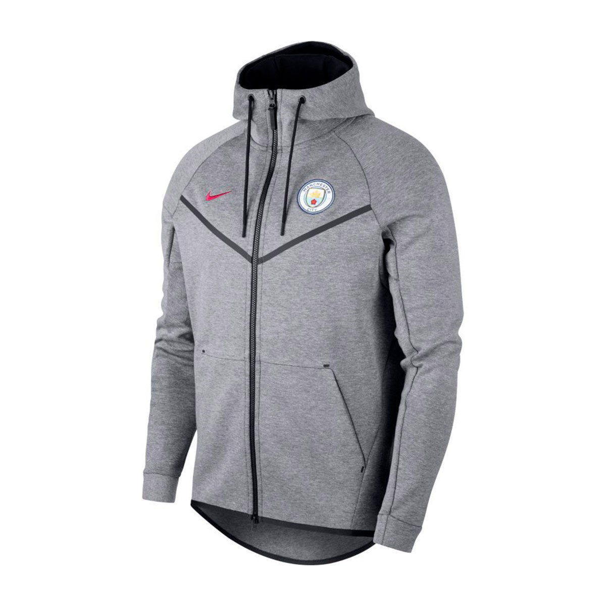 3d9204ed5 Sweatshirt Nike Manchester City FC NSW 2017-2018 Carbon heather-True ...