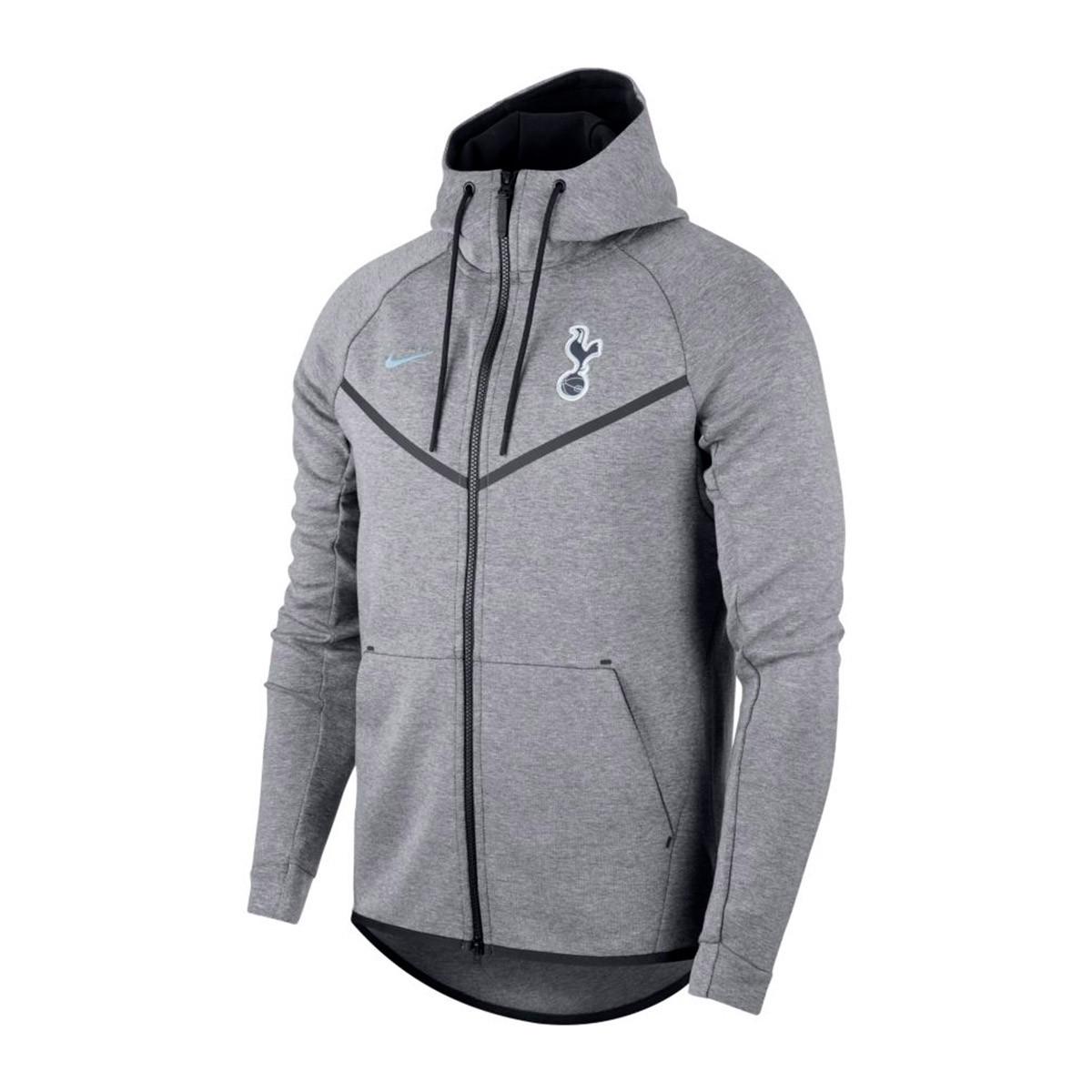 7846fb7f1 Sweatshirt Nike Tottenham FC NSW 2017-2018 Carbon heather-LT armory ...