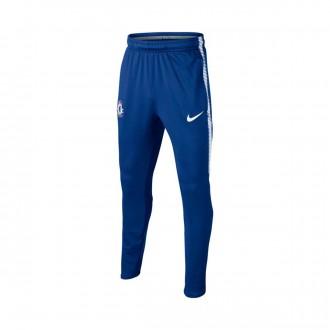 Calças  Nike Chelsea FC Dry Squad Niño 2017-2018 Rush blue-White