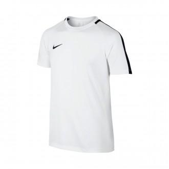 Camiseta  Nike Dry Academy Top White-Black