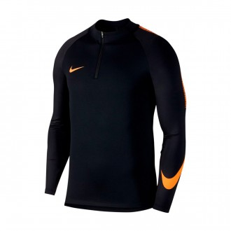 Sweat  Nike Dry Squad Dril Top Black-Cone