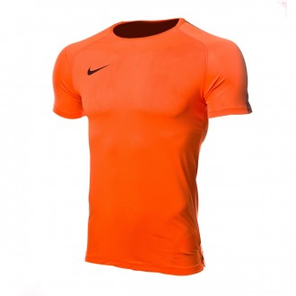 Maillot  Nike Breathe Squad Top SS Cone-Black
