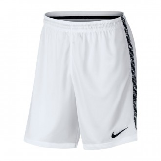 Short  Nike Dry Squad White-Black