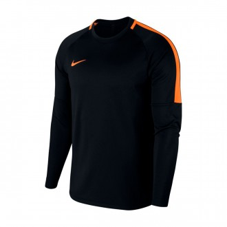 Sweat  Nike Dry Academy Crew Top Black-Cone