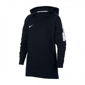 Sudadera  Nike Dry Academy Hoodie Niño Black-White