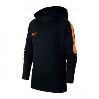 Sweatshirt  Nike Dry Academy Hoodie Crianças Black-Cone