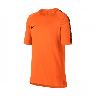 Maillot  Nike Breathe Squad Top SS Enfant Cone-Black
