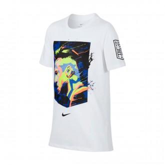 Camisola  Nike Dry Neymar Hero Niño White