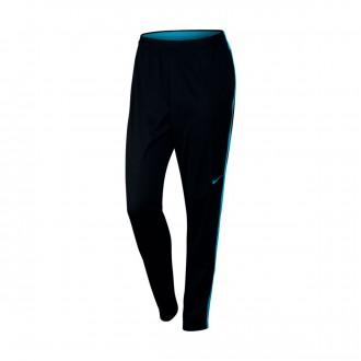 Calças  Nike Academy Mulher Black-Lt blue fury