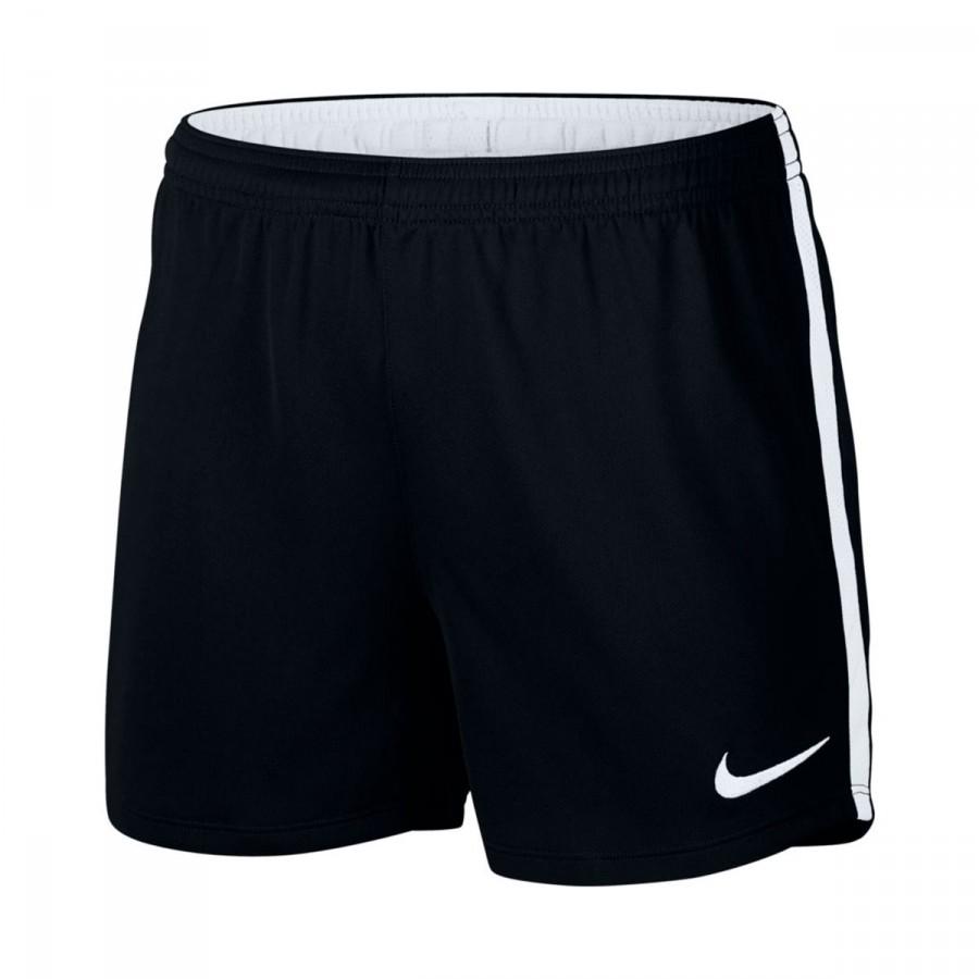 Pantalon Corto Nike Dry Academy Mujer Black White Futbol Emotion