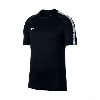 Camisola  Nike Breathe Squad Top SS Black-White