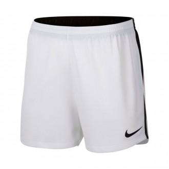 Calções  Nike Dry Academy Mujer White-Black
