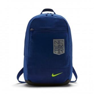 Mochila  Nike Neymar Football Neymar Niño Deep royal blue-Deep royal blue-Volt