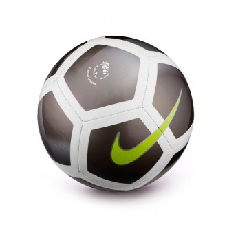 Balón  Nike Premier League Pitch Football Mtlc hematite-Silver-White-Volt