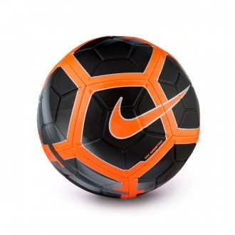 Balón  Nike Strike Football Black-Dark grey-Total orange