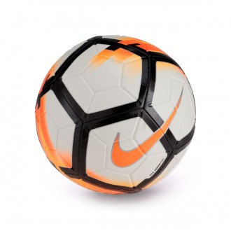 Balón  Nike Strike Football White-Total orange-Black