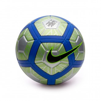 Balón  Nike Neymar Strike Football Chrome-Volt-Racer blue-Black