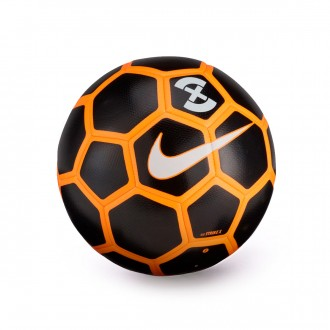 Balón  Nike Strike X Football Black-Orange-White