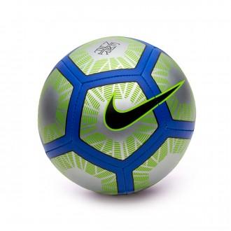 Bola de Futebol  Nike Mini Neymar Skills Football Chrome-Volt-Racer Blue-Black