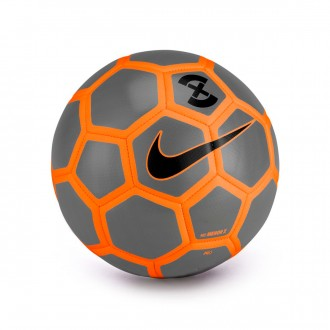 Bola de Futebol  Nike MenorX Football Wolf grey-Total orange-Black