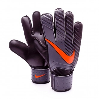 Glove  Nike Match Dark grey-Black-Total orange