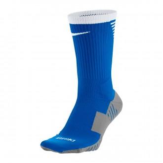 Meias  Nike Squad Crew Royal Blue-White