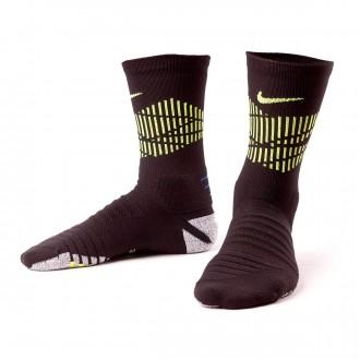 Meias  Nike NIKEGRIP Neymar Crew Black-Volt