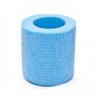 Tape SP Fútbol sujeta espinilleras 5cmX4,6m Azul celeste