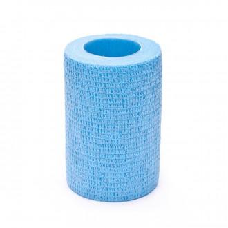 Tape SP Fútbol sujeta espinilleras 7,5cmX4,6m Azul celeste